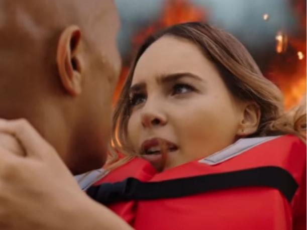 ¡La Roca salva a Belinda en tráiler de'Baywatch'!