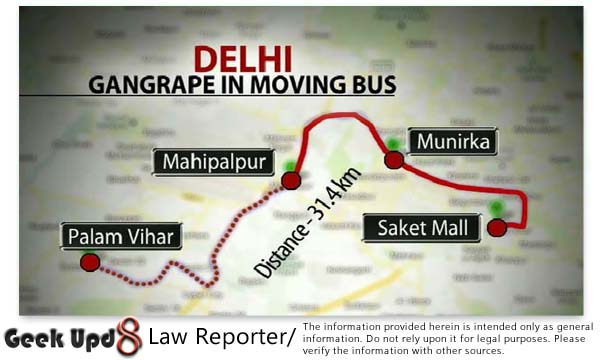 The Rape Captial - Gang Rape in Moving Bus, Are Women Safe in our Capital ? Yet Another Story