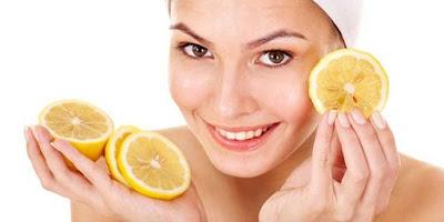 Masker Jerawat Alami Dari Lemon