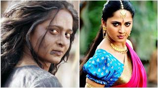Foto Anushka Shetty sebagai Devasena di Baahubali
