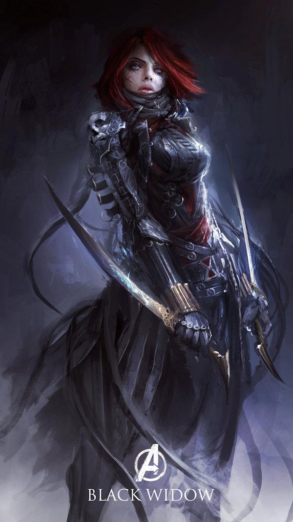 8. Black Widow