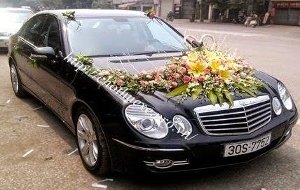Cho thuê xe cưới Mercedes E280