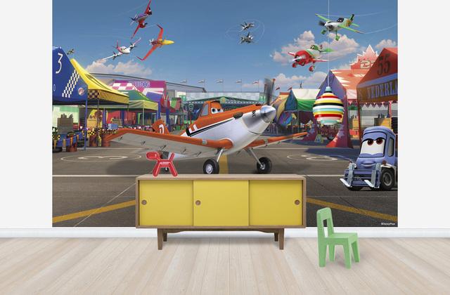 Disney Tapetti Lentsikat Planes 3D