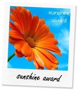 immagine del logo del premio sunshine award