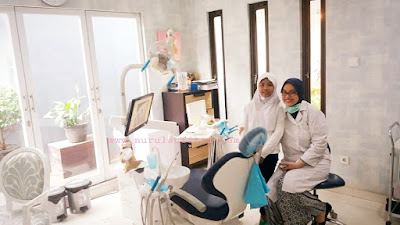 dokter gigi anak dan keluarga di klinik palapa dentists pasar minggu jakarta selatan nurul sufitri mom lifestyle blogger