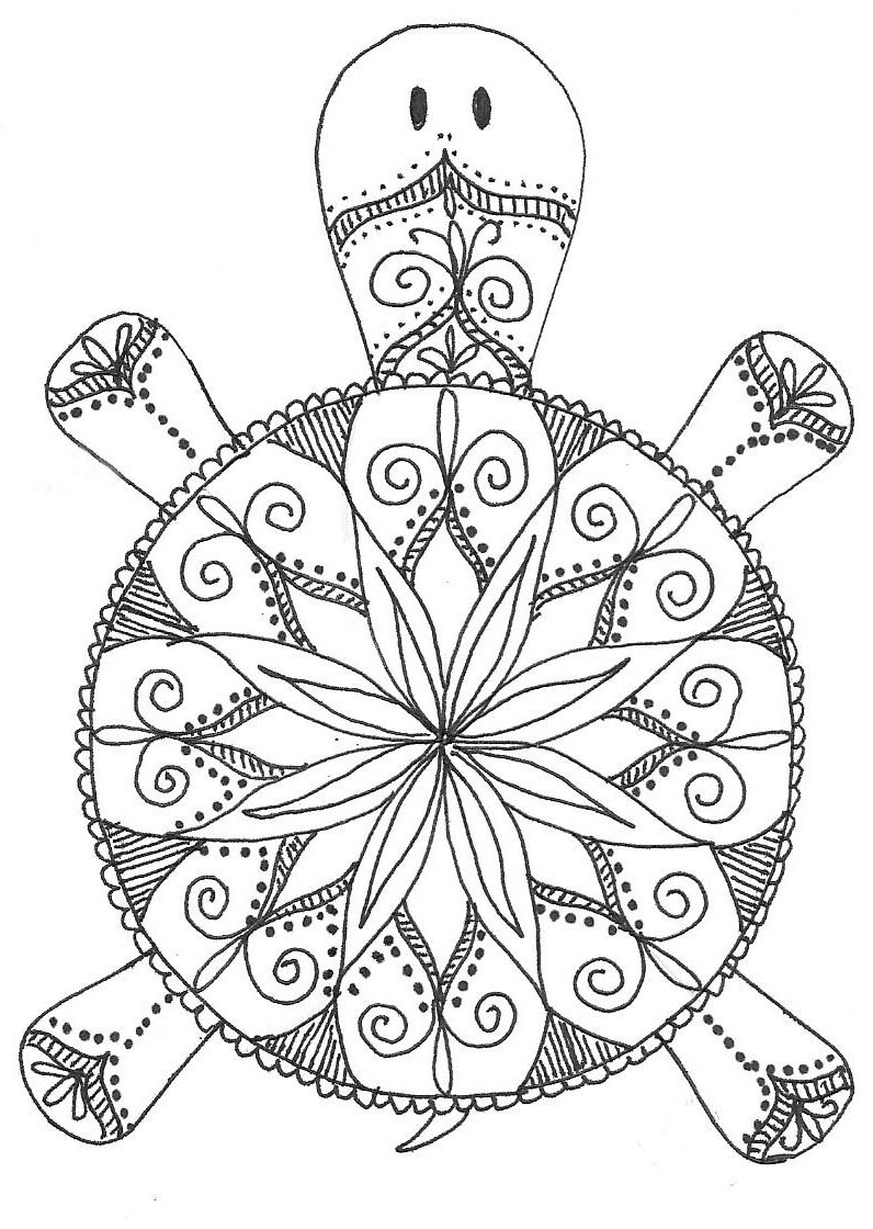 print out madala coloring pages | PaperTurtle: October 2015