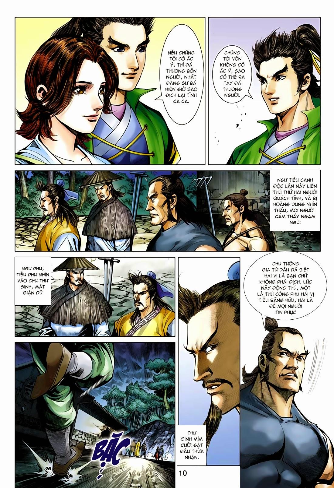 Anh Hùng Xạ Điêu anh hùng xạ đêu chap 75: hoàng thành cựu sự trang 10