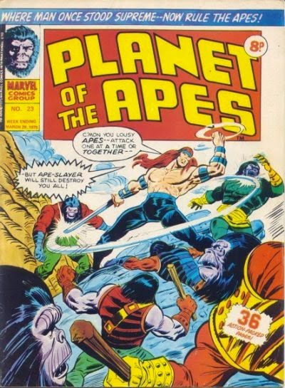 Marvel UK, Planet of the Apes #23, Apeslayer