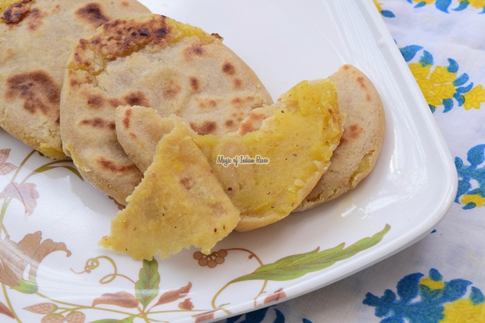 Pooran Poli - Toovar Dal Vedmi - पूरन पोली - तुअर दाल वेद्मि - પૂરણ પોળી - Priya R - Magic of Indian Rasoi