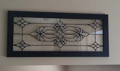 faux leaded glass