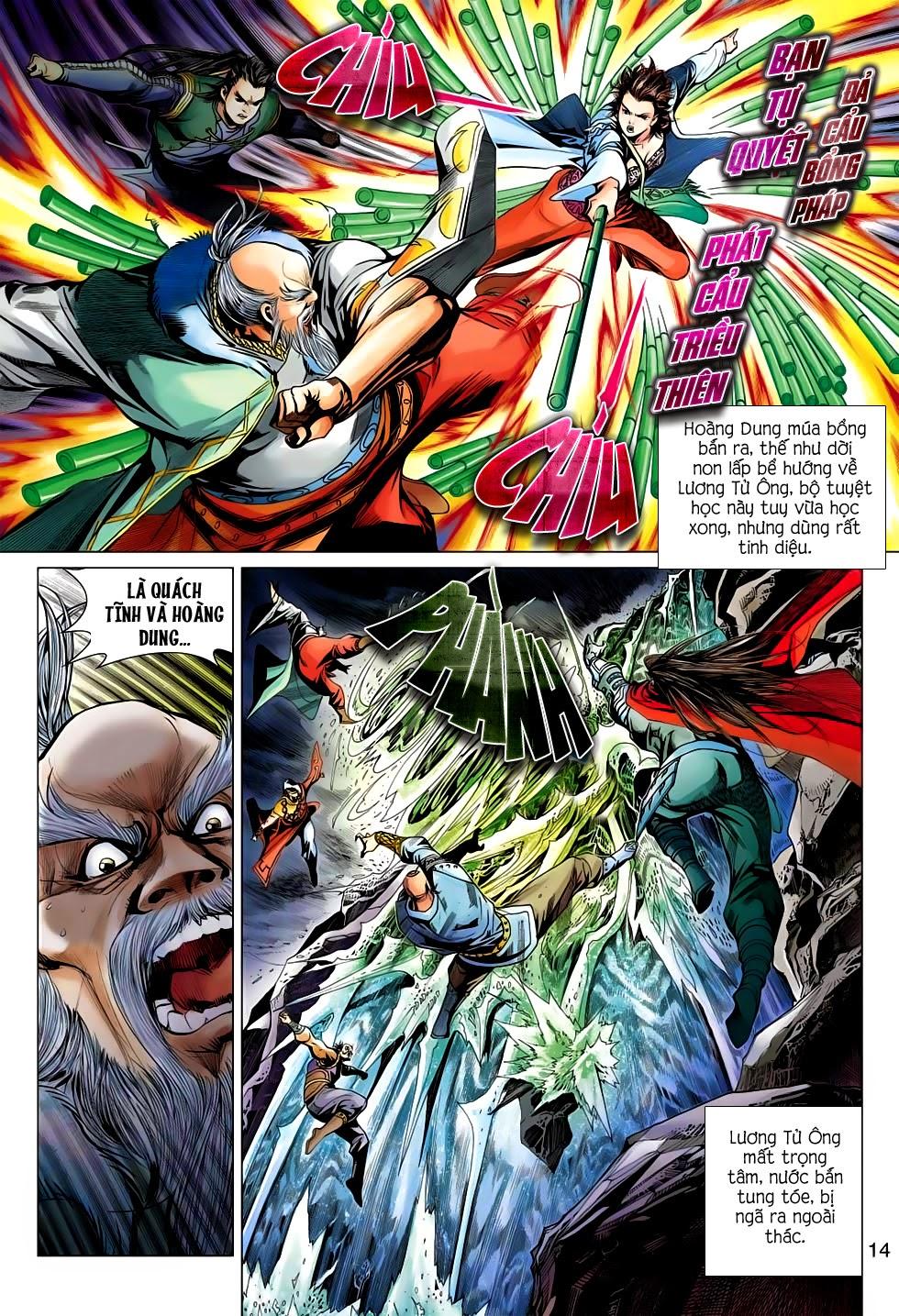 Anh Hùng Xạ Điêu anh hùng xạ đêu chap 56: tuyệt tình vô nghĩa lãnh huyết ác niệm trang 14