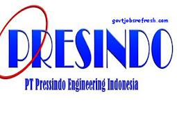 Lowongan Kerja Terbaru PT. Pressindo Engineering Indonesia Bulan Januari 2019