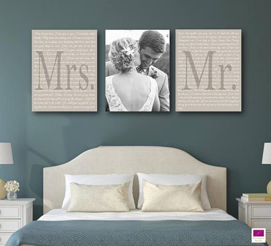 decoração do quarto do casal