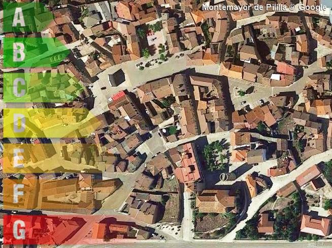 certificado energetico de vivienda y local en montemayor de pililla