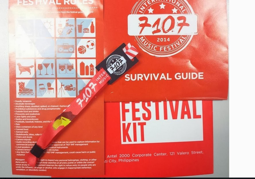 7107 Music Festival 2014 ticket VIP