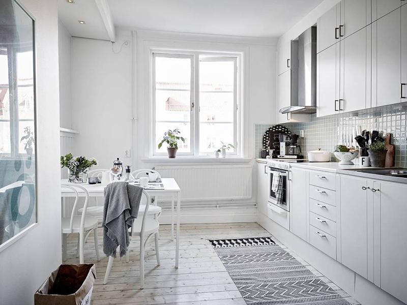 En busca de la cocina perfecta para nuestra casa decorar for Imagenes cocinas blancas