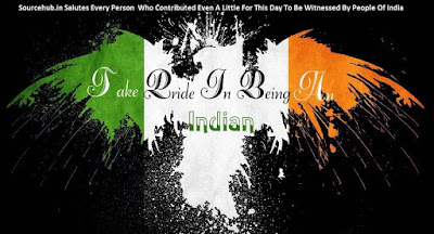 Takee Pride in being in indian