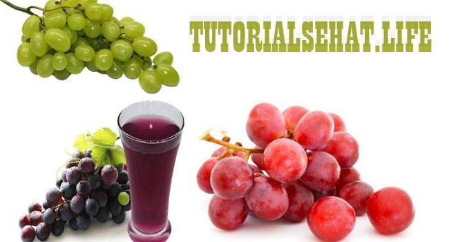 Manfaat Buah Anggur Untuk Kesehatan Tubuh