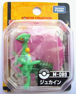 Sceptile figure Takara Tomy Monster Collection M series
