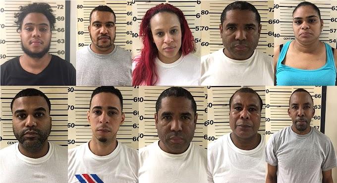 La DEA arresta banda dominicana con heroína valorada en US$2MM,  confiscan armas y dinero