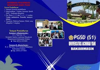 Penerimaan Mahasiswa Baru Prodi PGSD 2015-2016