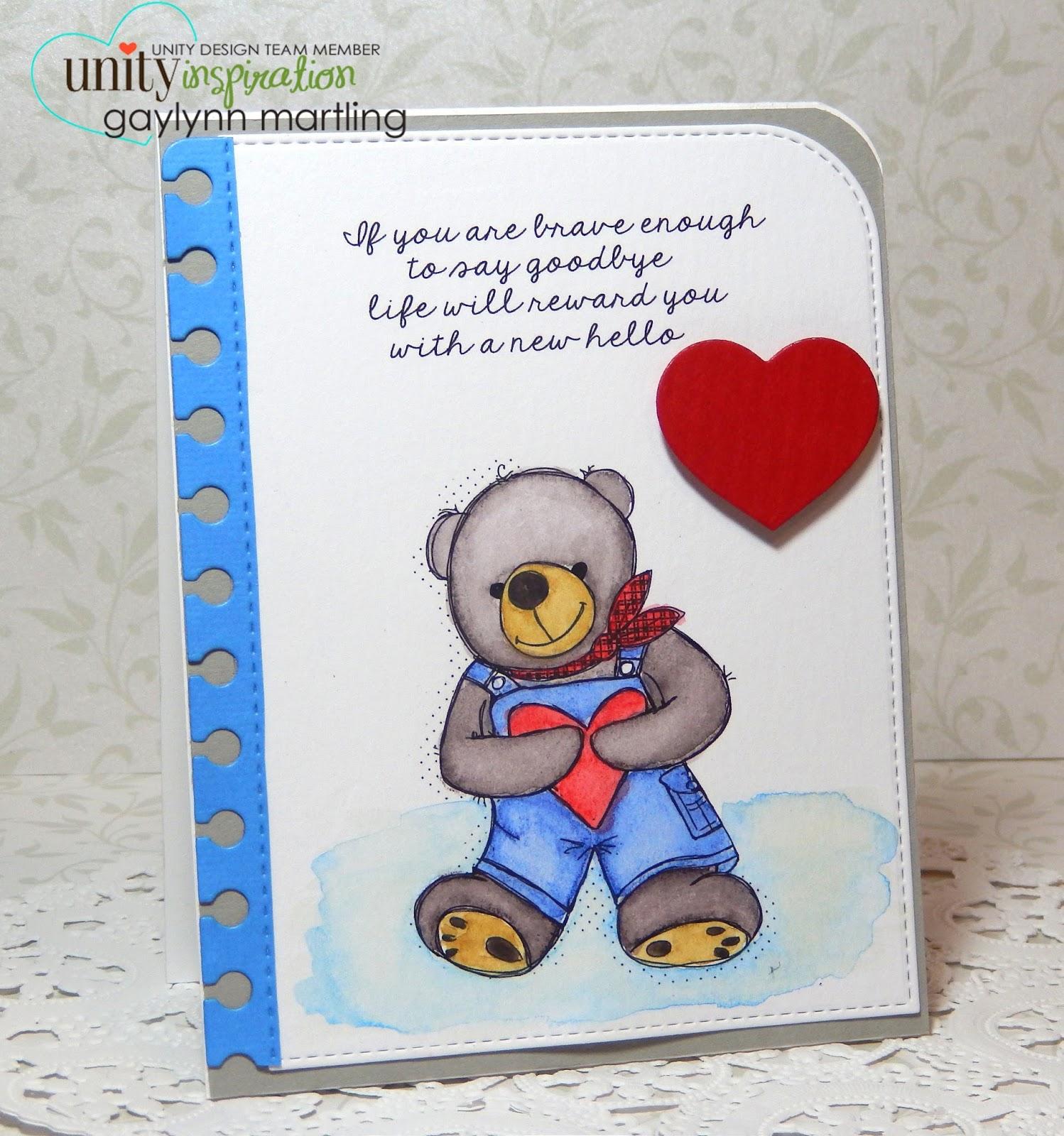 Neat nook creations teddy bear inspirational card teddy bear inspirational card m4hsunfo