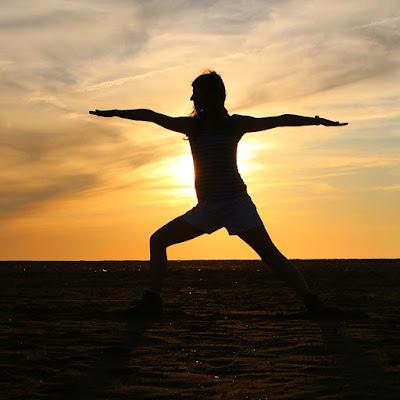 Yoga - Krieger2 keks und karotte