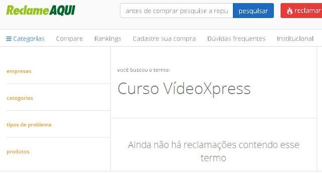 ReclameAqui VídeoXpress