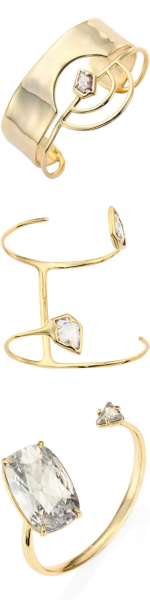 Alexis Bittar Miss Havisham Celestial Assorted Bracelets