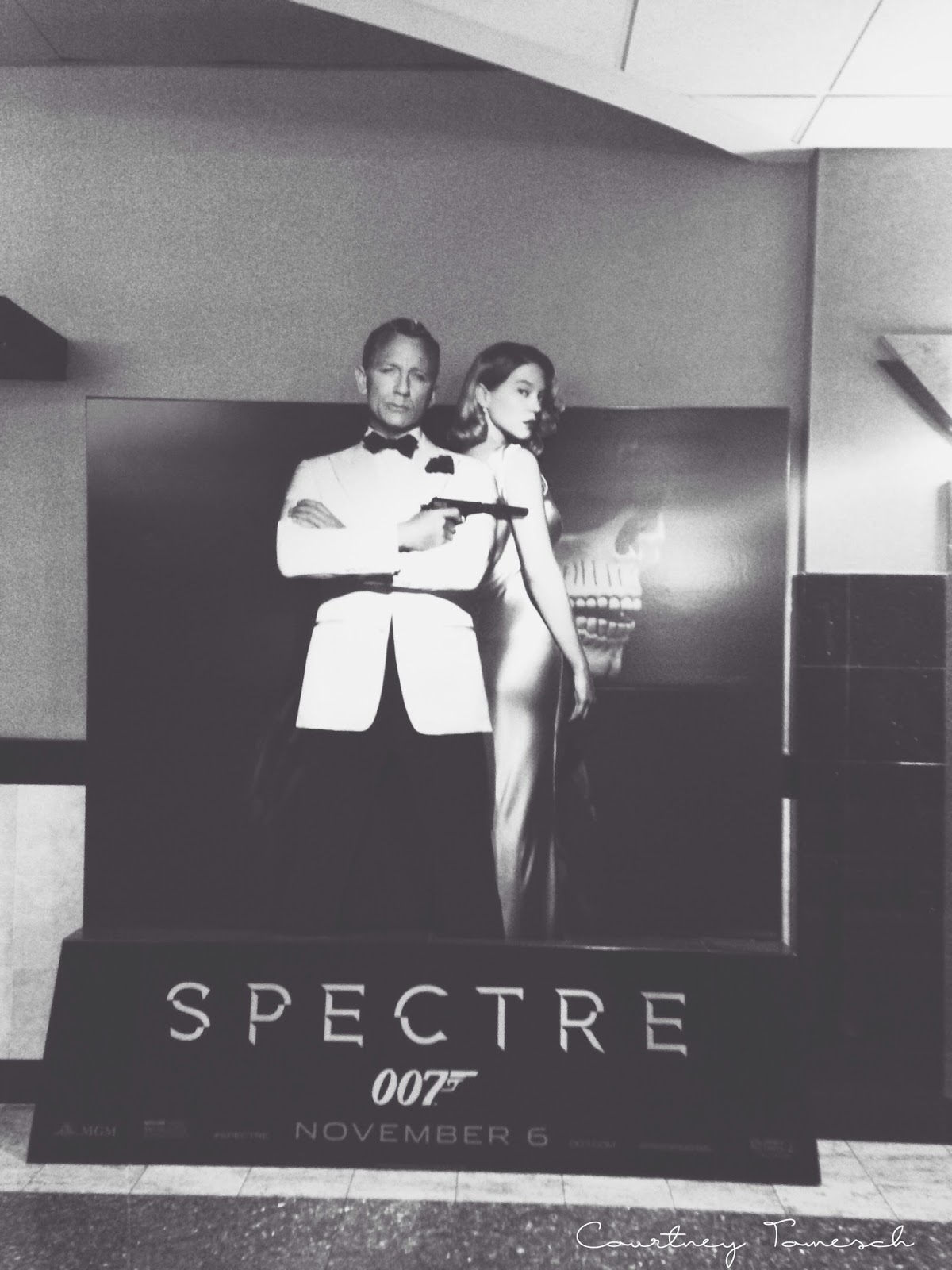 Courtney Tomesch James Bond Spectre