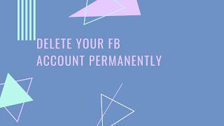 Who Do I Delete My Facebook Account