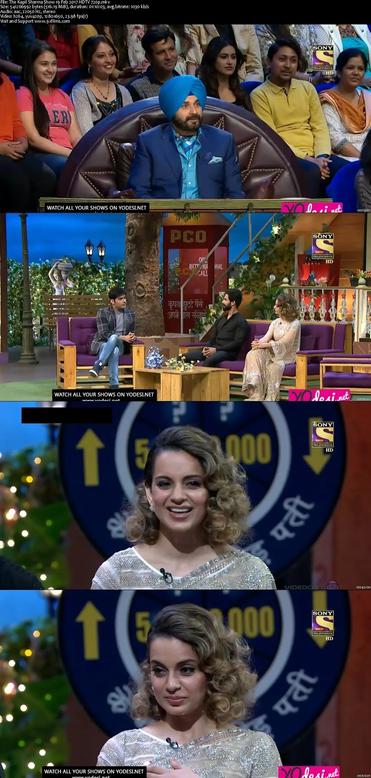 The Kapil Sharma Show 19 Feb 2017 Hdtv 720p 500mb
