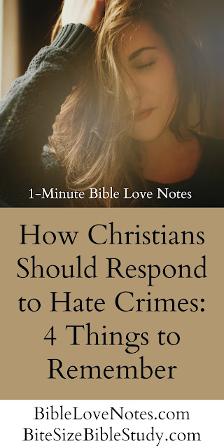 Hate Crimes, Christian Response, homosexuality