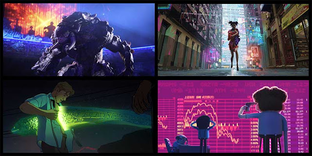 Love, Death, Robots, David Fincher, Tim Miller, Animación, Netflix