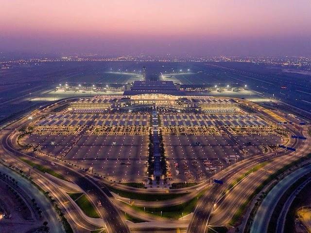 بالصور :: تحفة معمارية #مطار_مسقط_الدولي_الجديد 2018