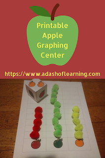 Printable Apple Graphing Center