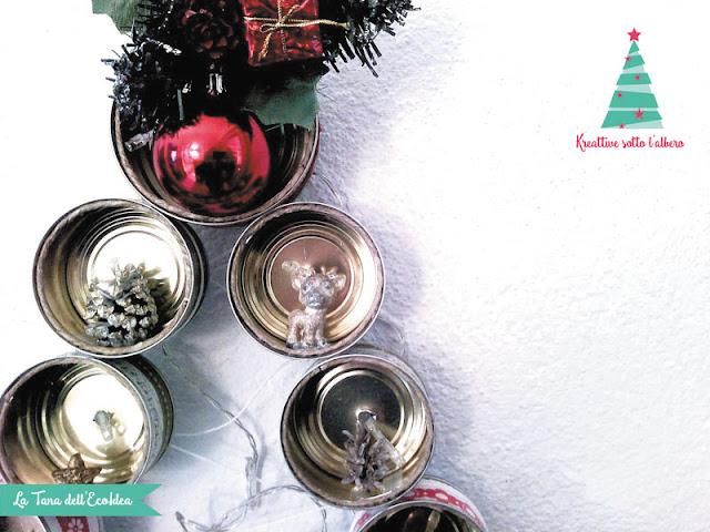 Come riciclare le lattine per realizzare un albero di Natale