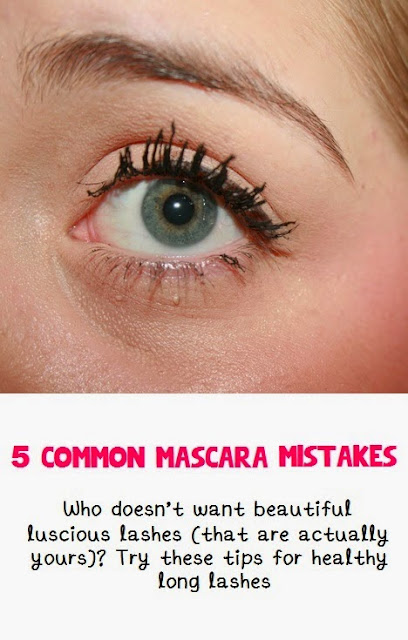 5 Common Mascara Mistakes Eye Makeup