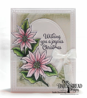 Our Daily Bread Designs Stamp/Die Duos: Joyful Christmas, Custom Dies: Snowflake Sky, Pierced Rectangles, Oval Stitched Rows, Paper Collection: Christmas 2018