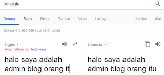 Translate terjemahan