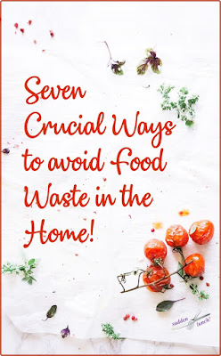 how to avoid food waste at home