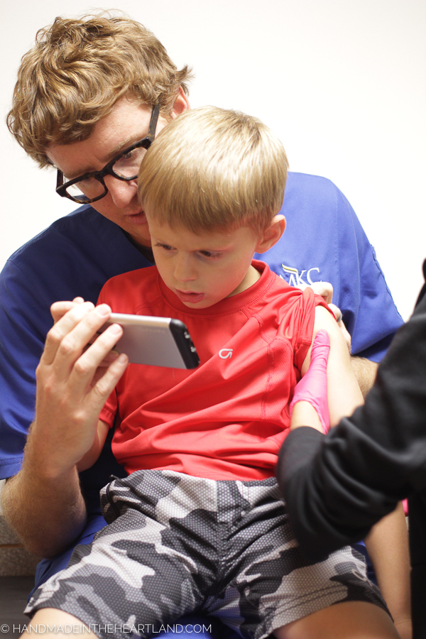Helping kids get shots without the distress