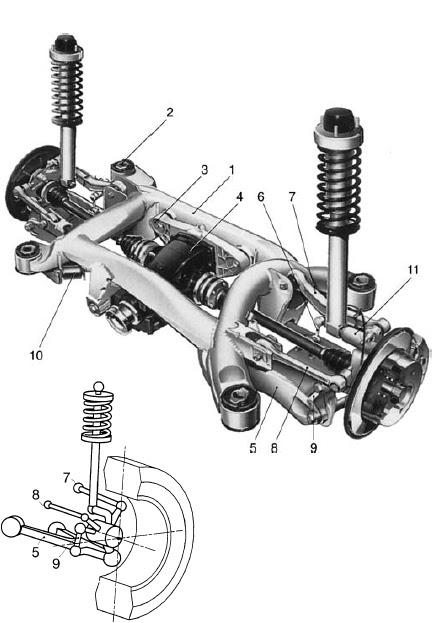 Maybach Multi Link Suspension