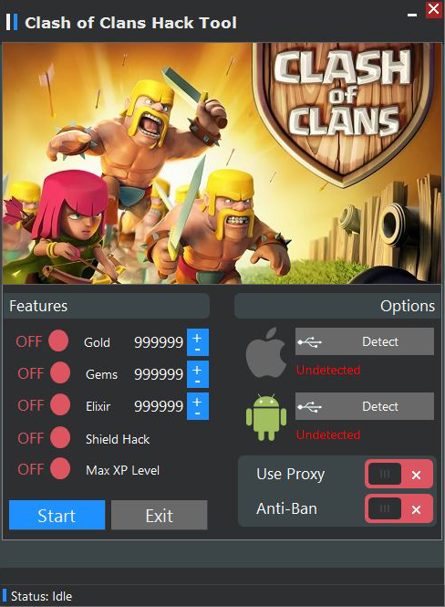 download clash of clans hack tool for android