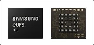Samsung 1 TB eUFS Untuk Memory Internal Smartphone Masa Depan