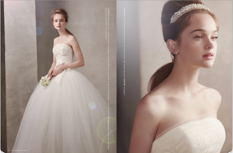 b2aa27f054d ... Collection also includes bridesmaids dresses and shoes. Take a look at  some of the styles we picked for you from White by Vera Wang Fall 2011  Catalog.