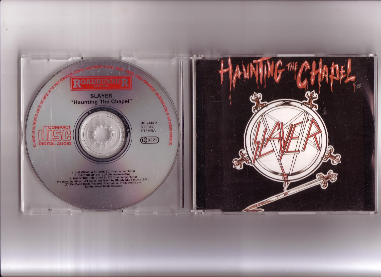 Source of Steel: Slayer - Haunting the Chapel E P
