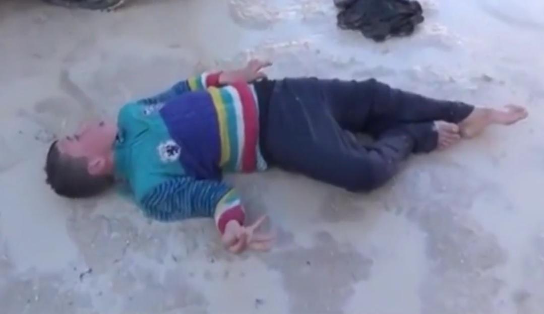 Serangan gas beracun di Suriah