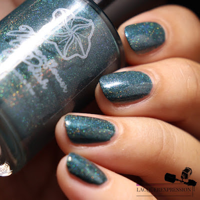 Swatch of Del Mar nail polish from Moonflower Polish