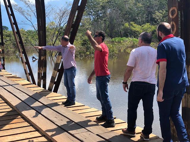 Deputado Chrisóstomo visita Nova Mamoré e Guajará-Mirim e confirma necessidade dos municípios